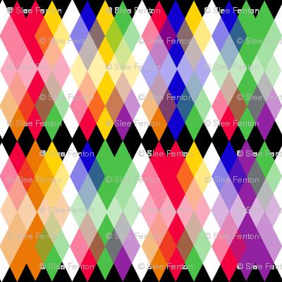 Rainbow  Kite Argyle