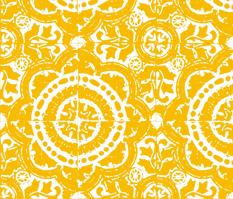 LUCIA fabric by marcador on Spoonflower - custom fabric