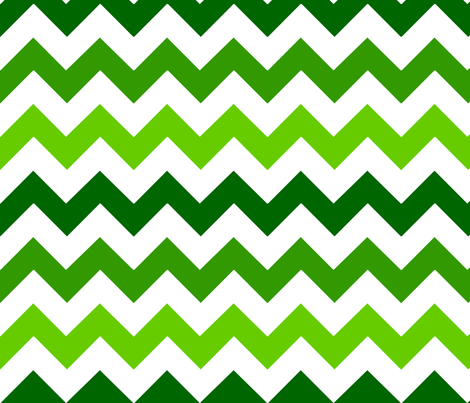 Green Chevron fabric by stickelberry on Spoonflower - custom fabric