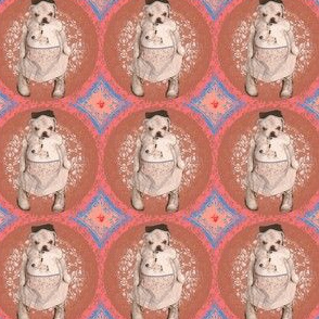 Bulldog Puppy pink