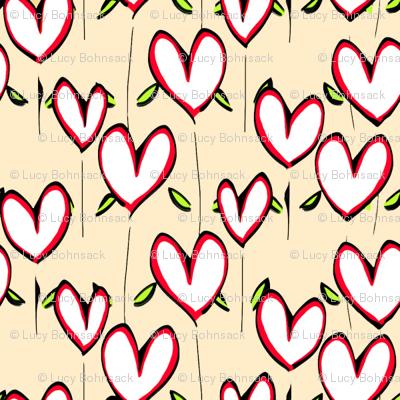 Heart Field Peach