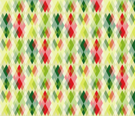 Grandma's Handkerchief Argyle fabric by fentonslee on Spoonflower - custom fabric