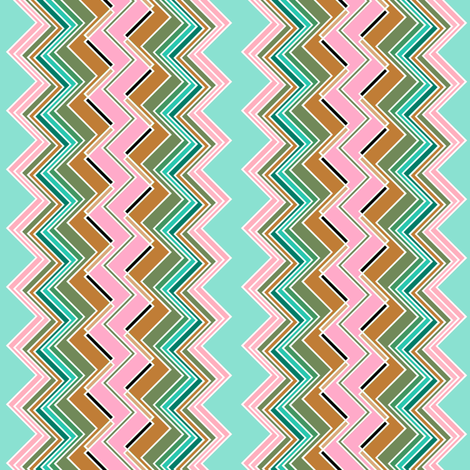 Chevron Braid fabric by joanmclemore on Spoonflower - custom fabric