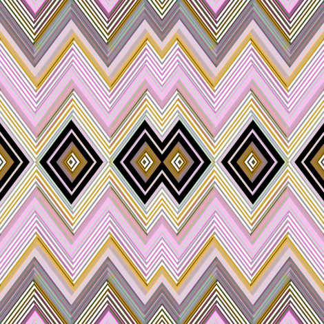 Echo Chevron  fabric by joanmclemore on Spoonflower - custom fabric