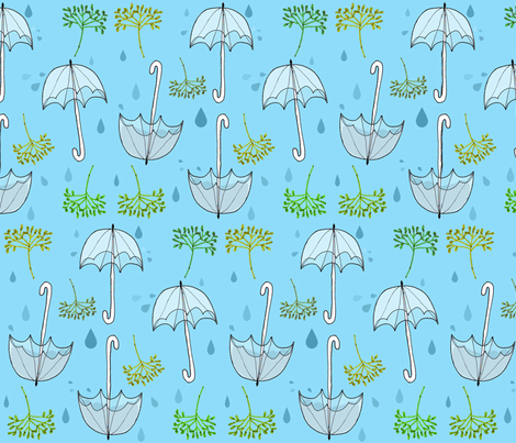 Umbelliferae fabric by graceful on Spoonflower - custom fabric