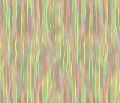 waterfall stripes - mother of pearl fabric by weavingmajor on Spoonflower - custom fabric