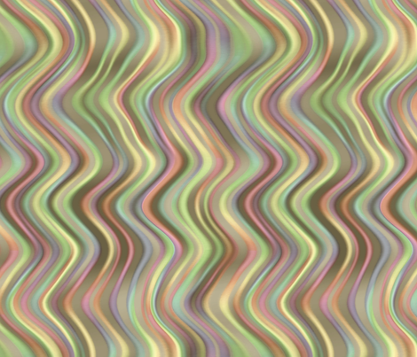 running waves - afternoon fabric by weavingmajor on Spoonflower - custom fabric