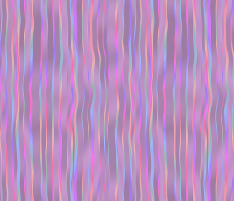 waterfall stripes in raspberry ice fabric by weavingmajor on Spoonflower - custom fabric