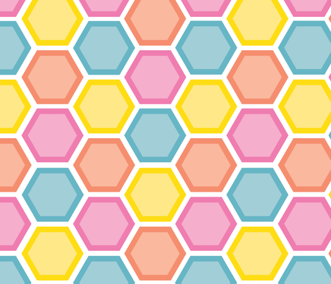 hexacolour fabric by crafted on Spoonflower - custom fabric