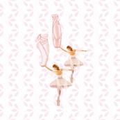 fairie ballet white