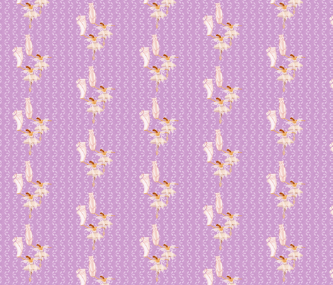 fairie ballet lavender fabric by krs_expressions on Spoonflower - custom fabric