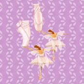 fairy ballet lavender