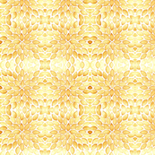 Leaves pattern - caramel color