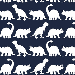 Dino Parade - Navy