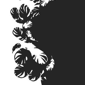 feathered border print