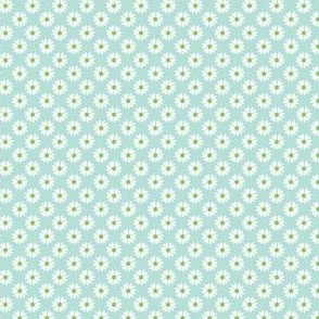 Daisy Heart blue