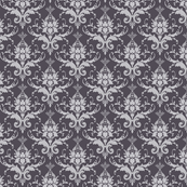 Silver Damask