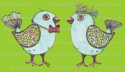 lovebirdsfabric