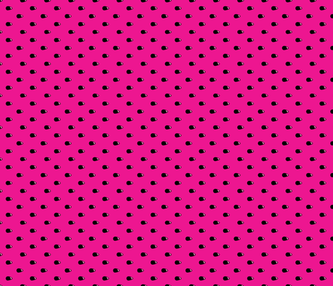 Watermelon seed fabric fabric by elsielevelsup on Spoonflower - custom fabric
