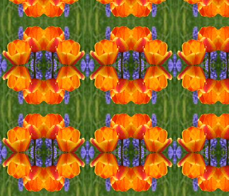 Tulips_6380 fabric by falcon11 on Spoonflower - custom fabric