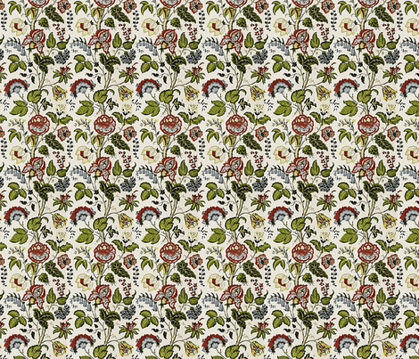 Martha Washington fabric by flyingfish on Spoonflower - custom fabric
