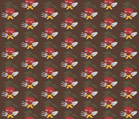 Gardentools fabric by lkglioness on Spoonflower - custom fabric