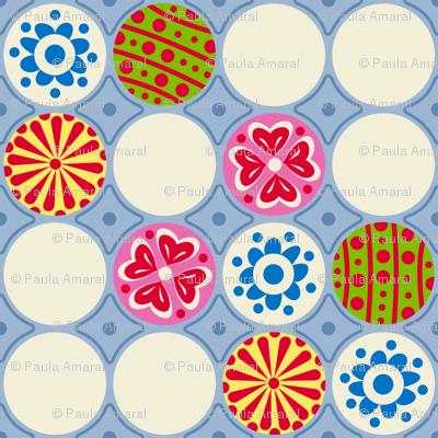 EggCarton Polka Dots