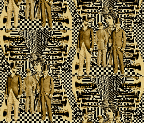 Wicked Games fabric by whimzwhirled on Spoonflower - custom fabric