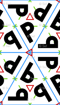 symmetry group p31m