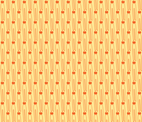Dolly peg fabric by littlebeardog on Spoonflower - custom fabric