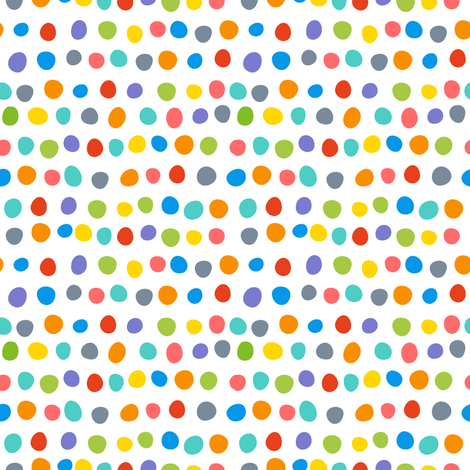Fierce polka dots fabric by vo_aka_virginiao on Spoonflower - custom fabric