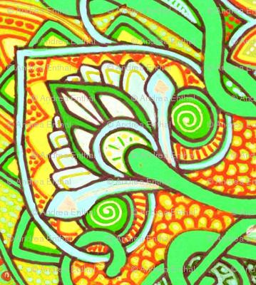 Reaching Outside of the Box (green/orange version)