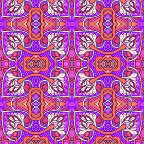 Reaching Outside of the Box (purple/magenta version)