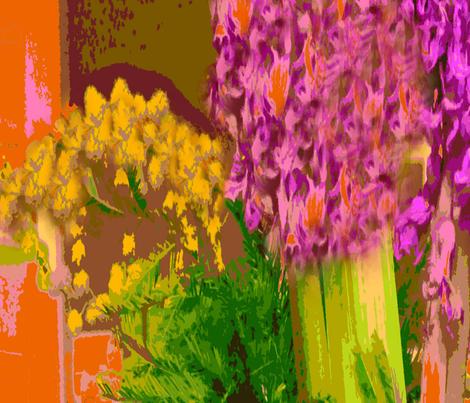 Mimosas and Hyacinths in a San Antonio, Texas Fiesta Mood