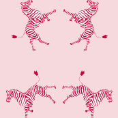 zebra_high 5 red/pink