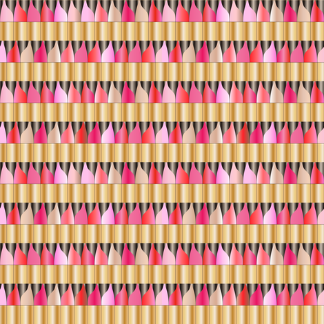 Lipstick fabric by mag-o on Spoonflower - custom fabric