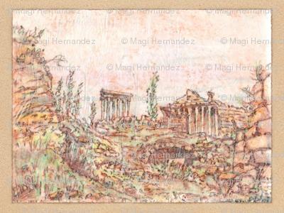 Memories of Grandeur -  Baalbek in Ruins