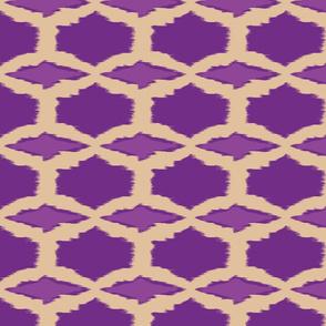 Spring Diamonds purple