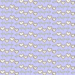 Hearts in Bloom Periwinkle