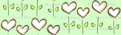 Hearts in Bloom Mint