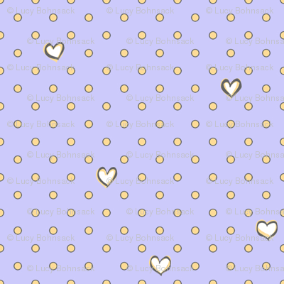 Love for Dots Periwinkle