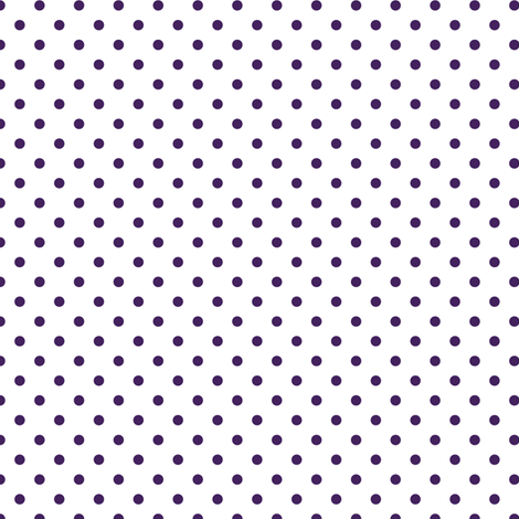 polka dot in acai fabric by chantae on Spoonflower - custom fabric