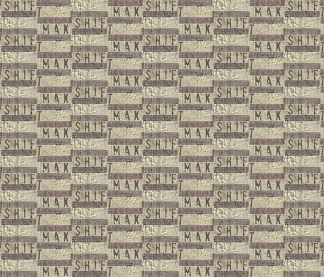 Mak Shift fabric by materialsgirl on Spoonflower - custom fabric
