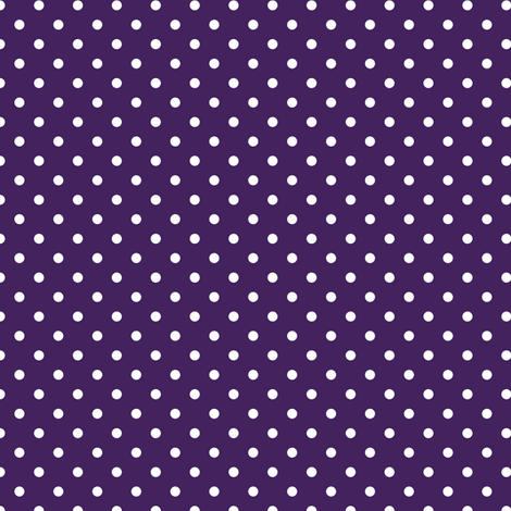 polka dot solid in acai fabric by chantae on Spoonflower - custom fabric