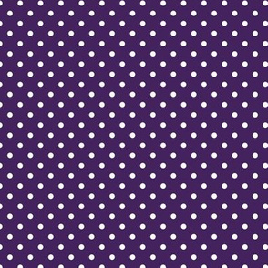 polka dot solid in acai