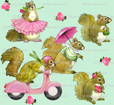 Girly Squirrels