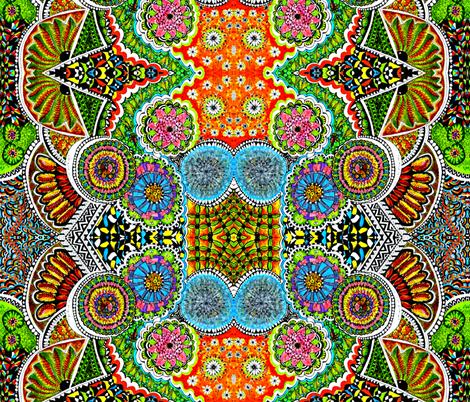 bloemenrijk fabric by ekeskleurdesign on Spoonflower - custom fabric