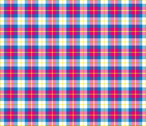 PLAYFUL PLAID IN DAY fabric by open-shop on Spoonflower - custom fabric