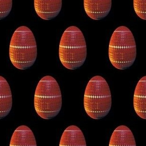 Red Design Easter Egg