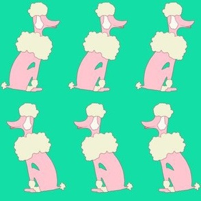 Oodles of Poodles on Astroturf